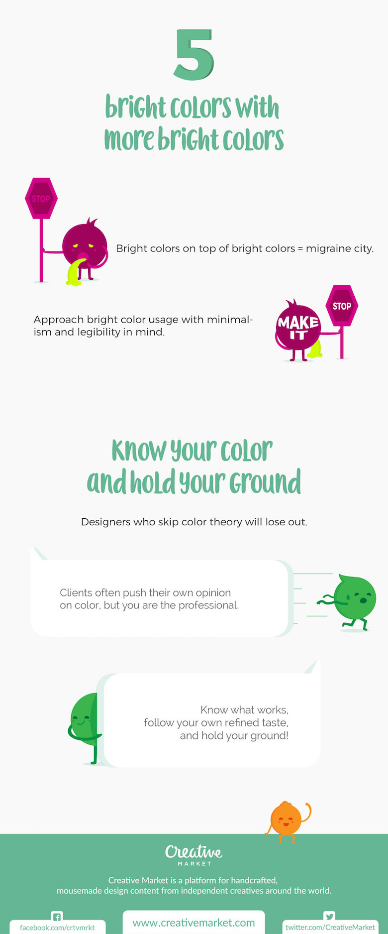 Color choices to avoid update - green